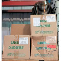 Qty 13 Boxes Cambro Camcovers Plate Covers