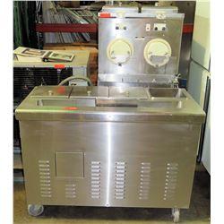 Ross M202 Custard Freezers w/ 2 Hoppers