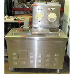Ross M202 Custard Freezers w/ 2 Hoppers