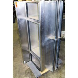 Stainless Steel 3-Section Ice Bin