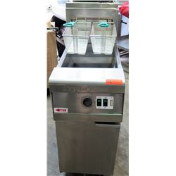 "Frymaster Commercial Deep Fryer w/ 2 Baskets 16""W x 31.5""D x 47""H"