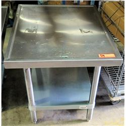 Advance Tabco Rectangle Stainless Steel Work Table w/ Undershelf
