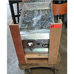 """New Lolo LCB15M Charbroiler 15"""" Natural Gas (Includes Conversion Kit to Convert to Propane)"""