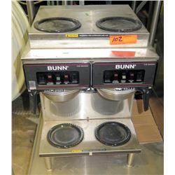 Bunn CW Series Double Side Commercial Coffee Maker w/ 4 Warmers