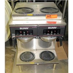 Bunn CW Series Commercial Coffee Maker w/ 4 Warmers