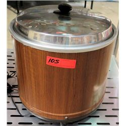 Wood Grain Electric Rice Cooker