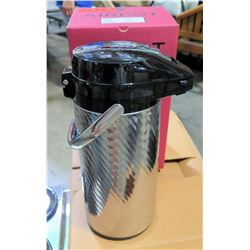 Qty 12 Newco 9228 Brew-Thru AirPot 2.2L Beverage Brewing Dispenser