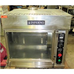 Inferno Hardt Rotisserie Spit Oven Single Stack Hot Case