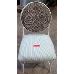 Qty 14 Chairs w/ Metal Frame, Upholstered Seat & Backrest