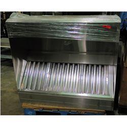 "Lambertson Stainless Steel Hoods Exhaust 53"" x 48"" x 21"""