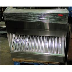 "Lambertson Stainless Steel Exhaust Hood 53"" x 48"" x 21"""