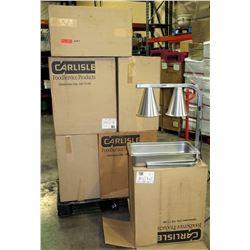 Qty 13 New Carlisle FoodService Flare Shade 2 Bulb 374-HL7237-00 Heat Lamps