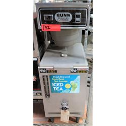 "Bunn O'Matic T3 20230-0000 Fresh Brewed Ice Tea Maker 10"" x 23"" x 30""H"