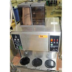General Foods USA WMF2000 3 Hopper Coffee Maker