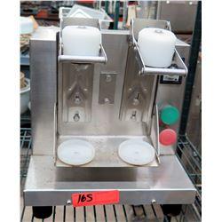 Stainless Steel Twin Dispenser for Bobba Drinks