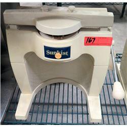 Sunkist Commercial Fruit Sectionizer / Slicer