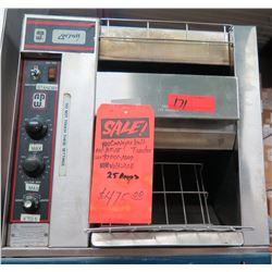 Wyatt BT-15 Conveyor Belt Toaster 208V 25 Amp