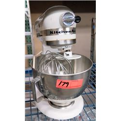 Kitchen Aid Counter Top Mixer, Bowl & Accessories