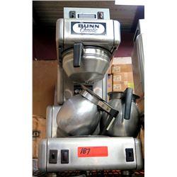 Bunn O'Matic Single Brew  Coffee Maker w/ 2 Stainless Steel Coffee Pots