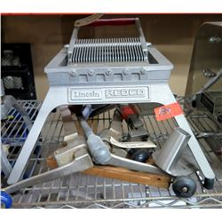 Lincoln Redco Commercial Heavy Duty French Fry Chopper