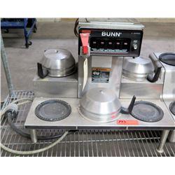 Bunn O'Matic Single Brew  Coffee Maker w/ 4 Extra Warmers