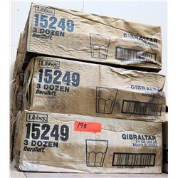 Multiple Cases Libbey 15249 Gibraltar 5.5 oz Rocks Glasses (3 dozen/case)