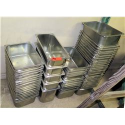 Multiple Misc Square & Rectangle Stainless Steel Pans