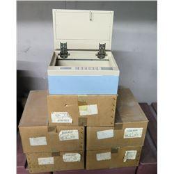 Qty 5 Alpha 572A2-001A0 Digital Locking Safe