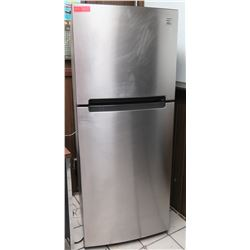 Kenmore Stainless Steel Upright Refrigerator Freezer Unit
