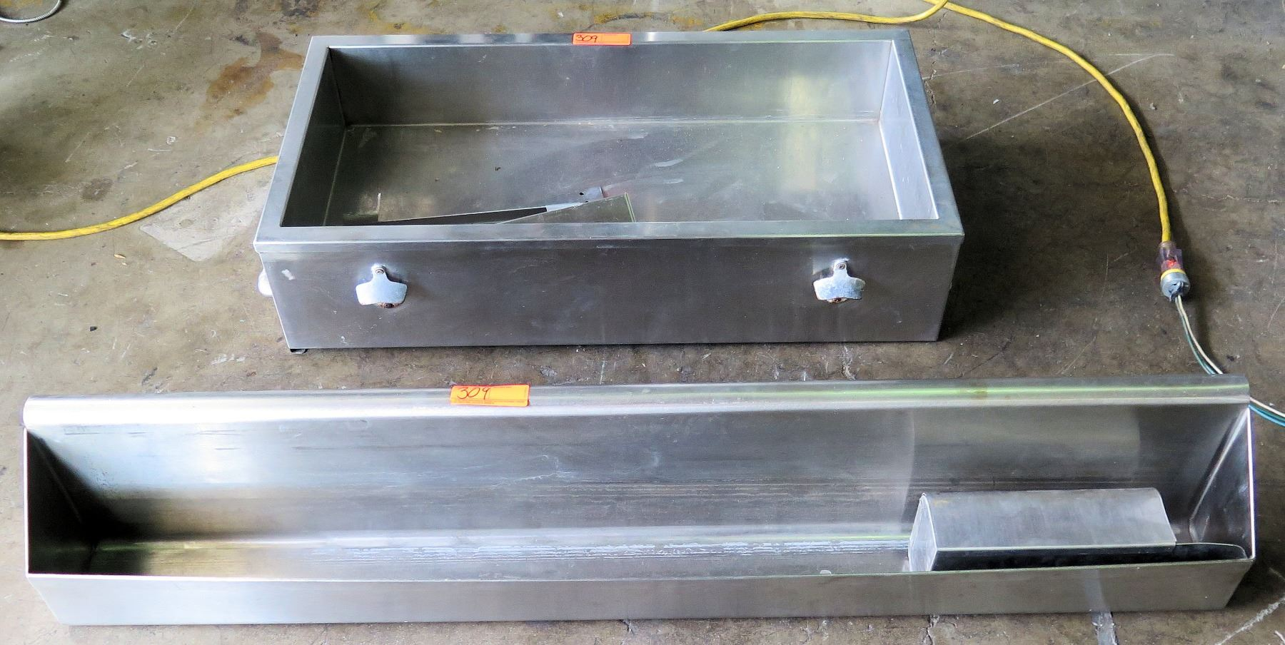 Custom Countertop Ice Bin For Bottled Beverages Speed Rail