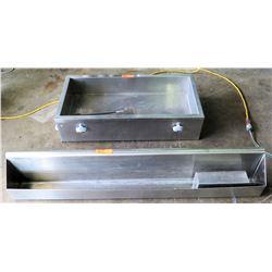 Custom Countertop Ice Bin for Bottled Beverages & Speed Rail