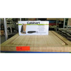 Cuisinart CEX-40 Electric Knife & Large Wood Chopping Block