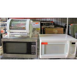 Panasonic & Hamilton Beach Microwaves & Baby George Rotisserie