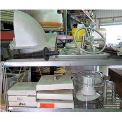 Misc Mixer Parts & Accessories, Robot Couple Cabbage Grater, etc