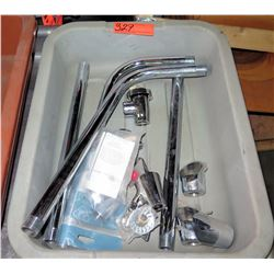 Bin Multiple Misc Plumbing Pipes & Fixtures, T&S B-0969 Breakers, etc