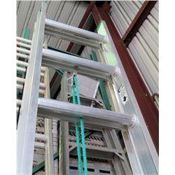 Werner Aluminum Multi-Purpose Extension Ladder 20' 225 lb Capacity