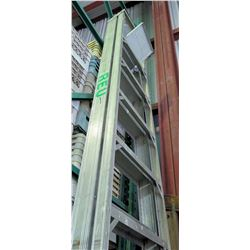 Aluminum Multi-Purpose Extension Ladder 12'