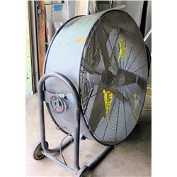 Large Commercial Round Rolling Fan