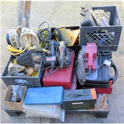 Pallet Misc Tools - Skil Saw, Makita Sander, Ammo Box, etc