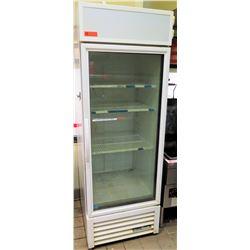 "True GDM-23-HC Glass Door Refrigerated Merchandiser 27""W x 30""D x 78.5""H"