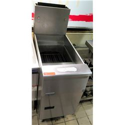 """Pitco Stainless Steel Commercial Deep Fryer 16""""W x 34""""D x 45.5"""" back ht"""