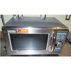 """Sharp 1000W/R-21LC Microwave Oven 20.5""""W x 15""""D x 12""""H"""