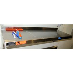 """Elkay Foodservice Products M01 Stainless Steel Wall Mount Utility Shelf (36"""" Long, 12"""" Depth)"""