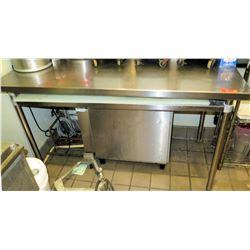 """GSW Stainless Steel Work Table w/ Undershelf 60"""" x 30"""" x 35.5""""H"""