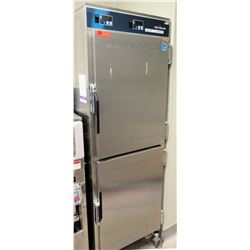 """Alto-Shaam Model 1200-UP Halo Heat 2 Section Rolling Cook & Hold Oven 25""""W x 29""""D x 75""""H"""