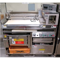 """Yamato S1284US Ramen Noodle Maker, Press & Cutter Machine 54""""W x 32""""D x 56.5 overall ht (SEE NOTE)"""