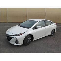 2017 TOYOTA PRIUS PRIME PLUG-IN HYBRID VEHICLE - Only 10 Miles! (Runs & Drives See Video)
