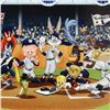 Image 2 : Line Up At The Plate (Yankees) by Looney Tunes