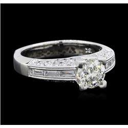 1.69 ctw Diamond Ring - 18KT White Gold