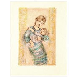 Fair Alice and Baby by Hibel (1917-2014)